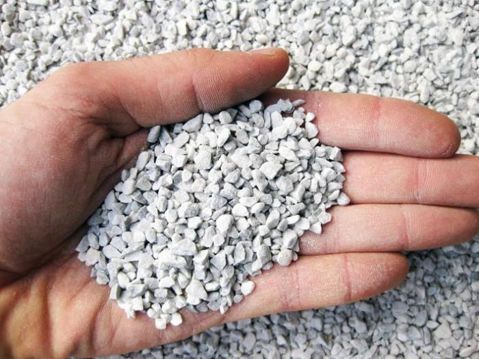 Graniglia di marmo bianco